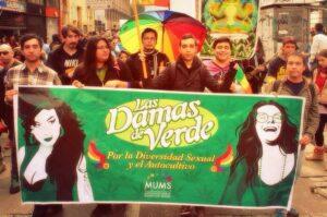 Las damas de Verde en Marcha