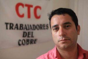 Cristián Cuevas es Dirigente Nacional de la Confederación de Trabajadores del Cobre CTC y Colaborador del Movimiento por la Diversidad Sexual MUMS