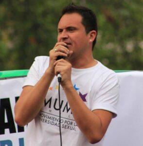 Marcelo Leiva Presidente Movimiento por la diversidad sexual, MUMS