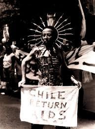 Alacranes en la Marcha, intervención en la marcha de Stonewall, Nueva York, 1994